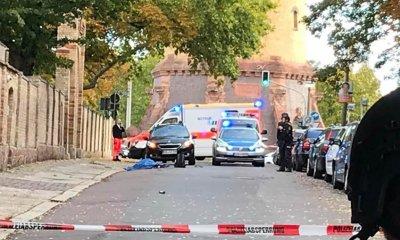 Стрелба пред синагога в Германия, двама са убити