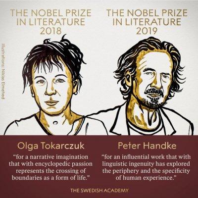 Полякиня и австриец с Нобел за литература
