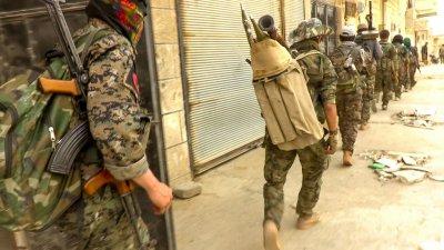 Сирийската армия влезе в град Табка