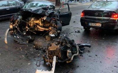 Тежка катастрофа в центъра на Пловдив