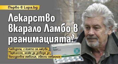 Първо в Lupa.bg: Лекарство вкарало Ламбо в реанимацията?