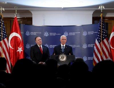 След срещата на Ердоган и Пенс: Турция спира огъня в Сирия