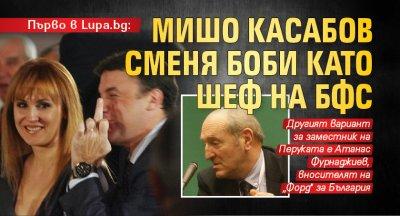 Първо в Lupa.bg: Мишо Касабов сменя Боби като шеф на БФС