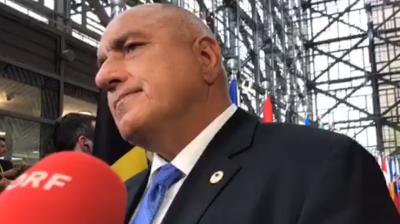 Борисов: Питайте пресата в Англия за расизъм (ВИДЕО)