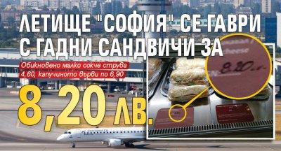 Летище София се гаври с гадни сандвичи за 8,20 лв.