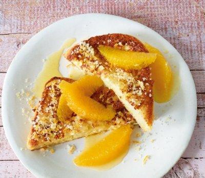 Пържени филийки с портокал