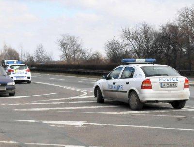 Пиян джигит катастрофира във Варненско на метри от полицаи