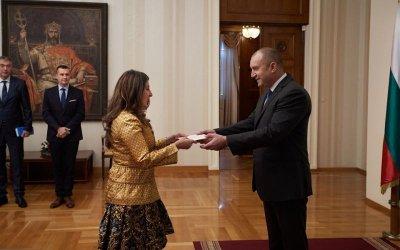 Херо Мустафа връчи акредитивните си писма на президента