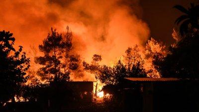 Труп на мъж е открит в пожара до Пазарджик