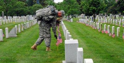 Мъртъв войник се шегува от гроба