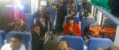 Цигани бият и псуват кондукторка в автобуса