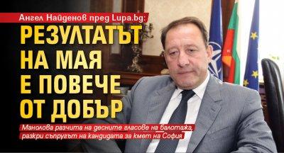 Ангел Найденов пред Lupa.bg: Резултатът на Мая е повече от добър