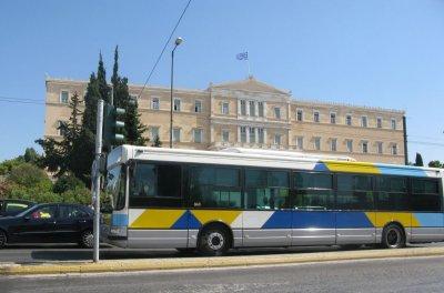 200 евро глоба за спиране на бус лента в Гърция