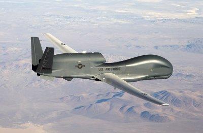 US дрон мина над България в посока Донбас
