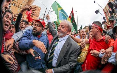 Лула да Силва излезе от затвора