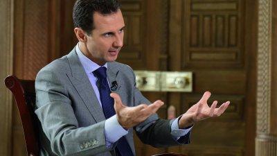 """Асад обвини ЦРУ за смъртта на основателя на """"Белите каски"""""""