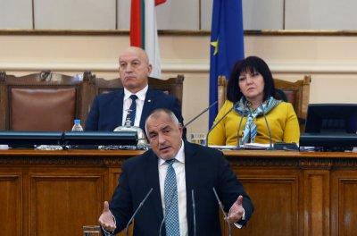 Борисов в парламента: Отличници сме за Шенген, ядосан съм, че още чакаме