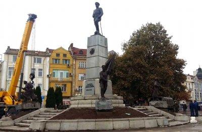 Откриха паметник на героите от Девета плевенска дивизия