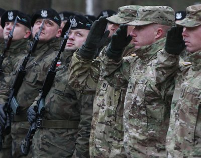 САЩ увеличават военния си контингент в Полша