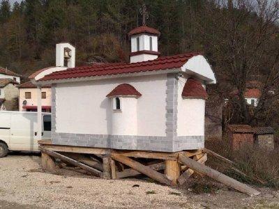 Сръбската църква забрани откриването на дарен от България храм