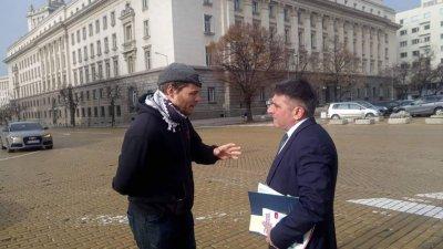 Джок Полфрийман сгащи Данаил Кирилов