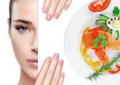 Хранене за красива кожа и нокти