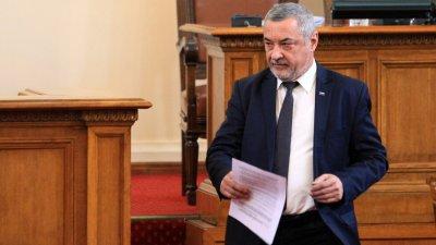 БСП се кае за избора на Валери Симеонов