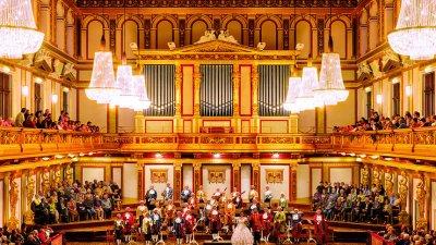 Виена Моцарт оркестра гостува в София за Коледа