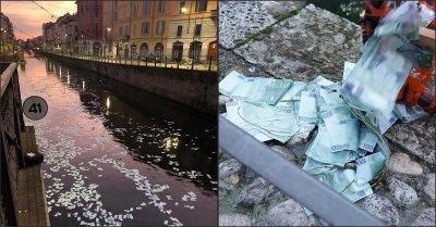Милиони евро задръстиха канал в Милано