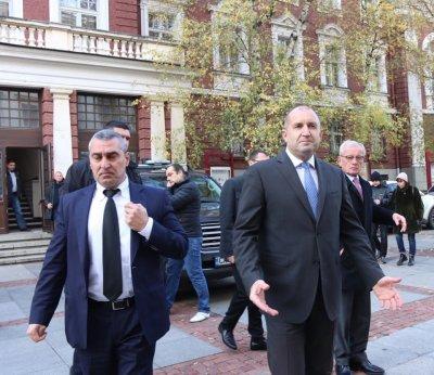 Президентът: Данаилов бе човешкото лице на българската политика