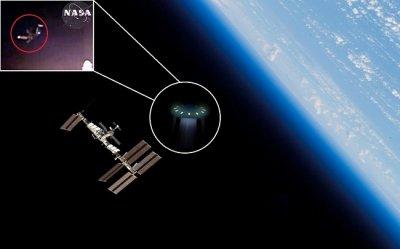 НАСА и Русия крият за НЛО на МКС