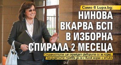 Само в Lupa.bg: Нинова вкарва БСП в изборна спирала 2 месеца