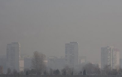 Въздухът в столицата е 5 пъти по-мръсен днес