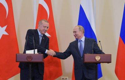 """Путин и Ердоган пускат """"Турски поток"""" на 8 януари"""