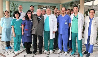 Изписаха човека с първата белодробна трансплантация в България