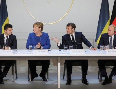 Путин и Зеленски се разбраха в Париж: Примирие в Източна Украйна