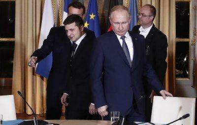 Започна първата официална среща между Путин и Зеленски в Париж