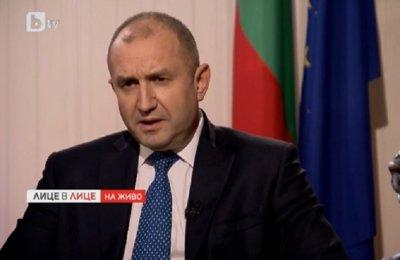 Румен Радев: Ще искам промяна в Конституцията