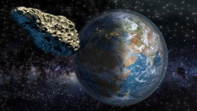 Опасен астероид, преминал край Земята, може пак да ни навести