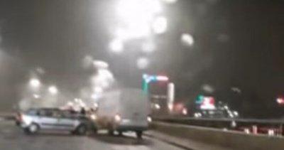 "Десетина коли се сблъскаха на ""Цариградско шосе"""