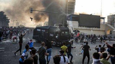 Стрелба срещу протестиращи в Багдад: шестима загинаха
