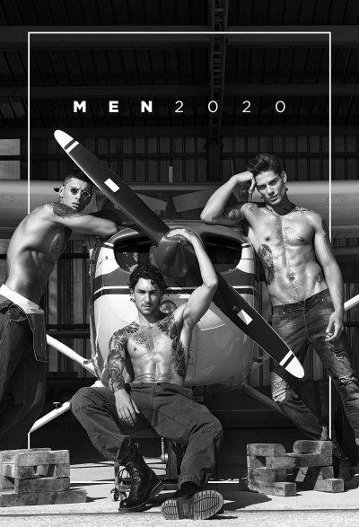 Секси мъже украсиха календар за 2020 (Снимки)