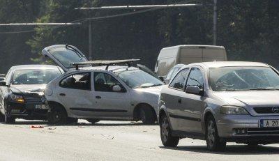 """Пет верижни катастрофи на магистрала """"Тракия"""""""