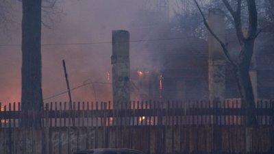 Барака е подпалила психодиспансера в София