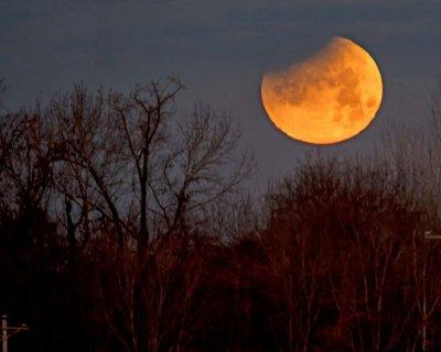 Внимавайте с Лунното затъмнение на 10 януари