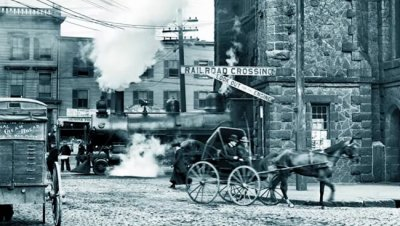 Влак-призрак се появява и изчезва