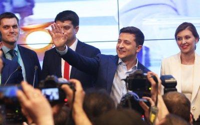 Украйна си избра евреин за президент