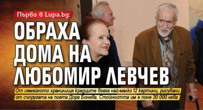 Първо в Lupa.bg: Обраха дома на Любомир Левчев