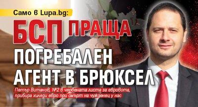 Само в Lupa.bg: БСП праща погребален агент в Брюксел