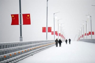 Магистралният мост между Китай и Русия е готов